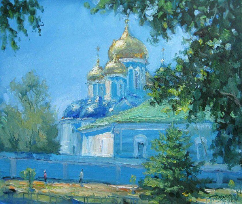 У монастыря