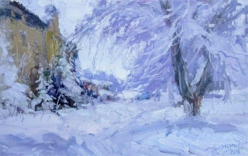 Зимний этюд №2